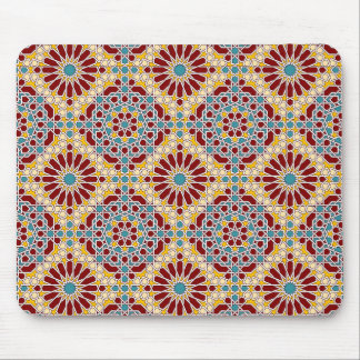 Tapis De Souris Motif géométrique islamique Mousepad