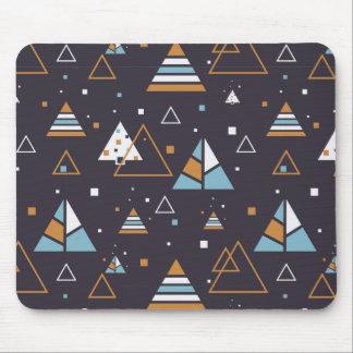 Tapis De Souris Motif géométrique moderne 3 de triangles