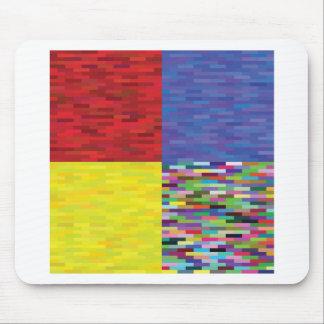 Tapis De Souris motif multicolore