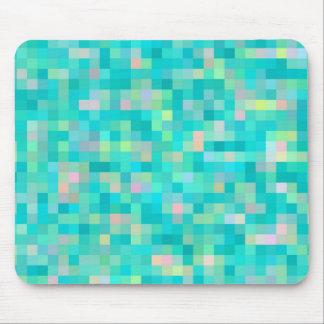 Tapis De Souris Motif multicolore d'art de pixel