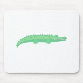 Tapis De Souris Motif sans couture de crocodiles drôles