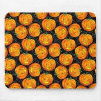Tapis De Souris Motif vintage Mousepad de citrouille de Halloween