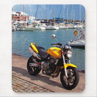Tapis De Souris Motocyclette à la marina