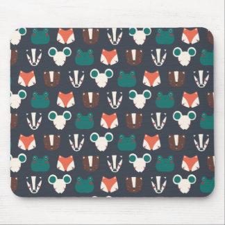 Tapis De Souris mouse pad animaux forêt