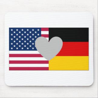 Tapis De Souris Mousepad américain allemand