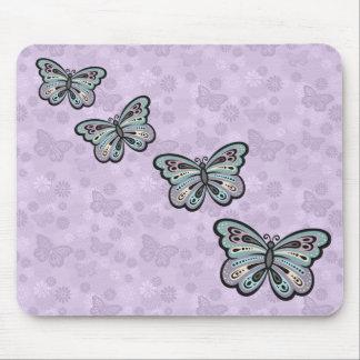 Tapis De Souris Mousepad audacieux de papillon