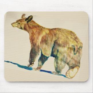 Tapis De Souris Mousepad avec la marche d'ours