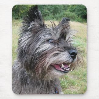Tapis De Souris Mousepad de chien de Terrier de cairn, idée de