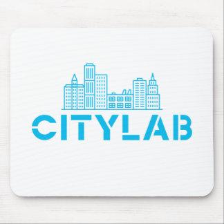 Tapis De Souris Mousepad de CityLab (conception bleue d'horizon)