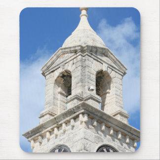 Tapis De Souris Mousepad des Bermudes Clocktower
