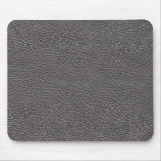 Tapis De Souris Mousepad en cuir gris de texture
