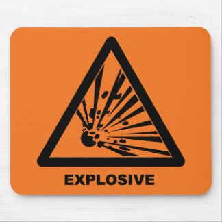 Tapis De Souris Mousepad explosif