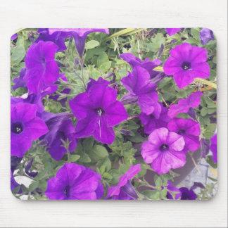 Tapis De Souris Mousepad - fleurs pourpres - vous personnaliser il