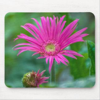 Tapis De Souris Mousepad rose lumineux de fleur