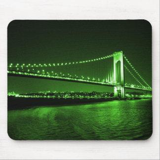 Tapis De Souris Mousepad vert de pont de Kelly