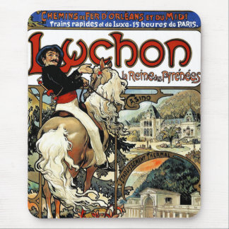 Tapis De Souris Mucha - Luchon - casino - art Nouveau