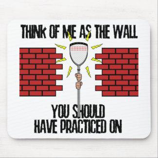 Tapis De Souris Mur de gardien de but de lacrosse