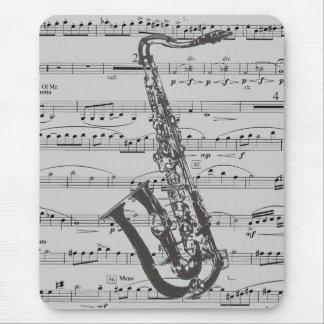 Tapis De Souris Musique de saxophone