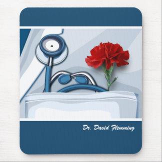 Tapis De Souris Name Gift Mousepad de docteur fait sur commande