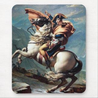 """Tapis De Souris """"Napoléon croisant les Alpes"""" - 1800 par la"""