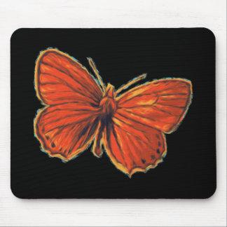 Tapis De Souris Nature gothique rouge de mite d'insecte d'insecte