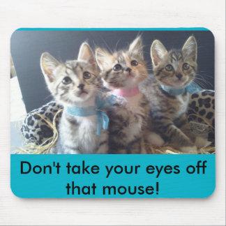 Tapis De Souris Ne prenez pas vos yeux outre de la souris