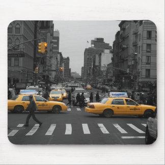 Tapis De Souris New York City Taxi Cabs