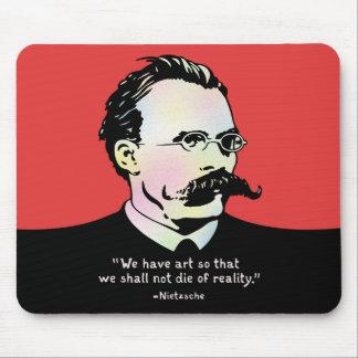 Tapis De Souris Nietzsche - réalité de l'art v.