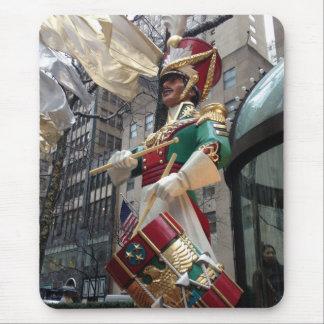 Tapis De Souris Noël central New York de garçon de batteur de