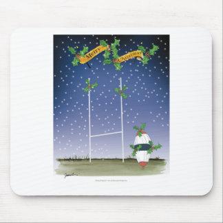 Tapis De Souris Noël de rugby