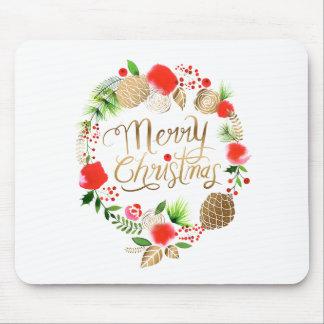 Tapis De Souris Noël, vacances, décorations, célébration