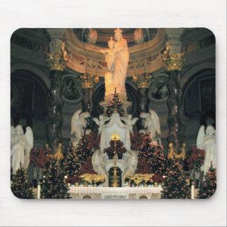Tapis De Souris Notre Madame d'autel principal de basilique de vic