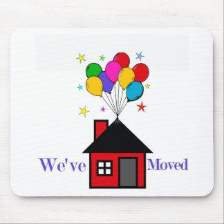 Tapis De Souris Nous avons déplacé la nouvelle maison