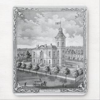 Tapis De Souris Nouveau palais de justice 1875 de château