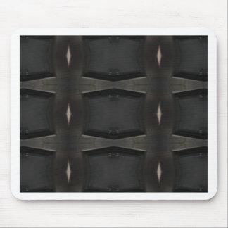 Tapis De Souris Nuances de motif classique gris de charbon de bois