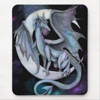 Tapis De Souris Nuit de dragon