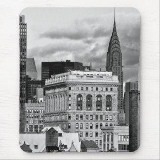 Tapis De Souris NYC : Construction de Chrysler, arrière de