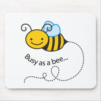 Tapis De Souris Occupé comme abeille