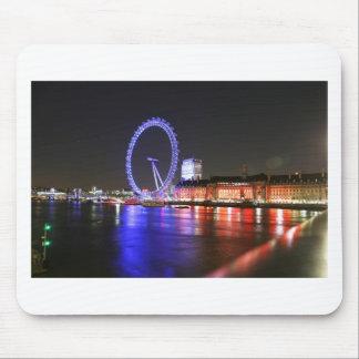 Tapis De Souris Oeil de Londres la nuit
