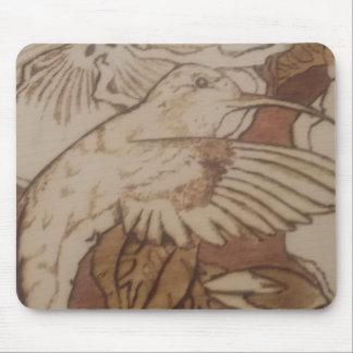 Tapis De Souris Oiseau de ronflement de ketmie