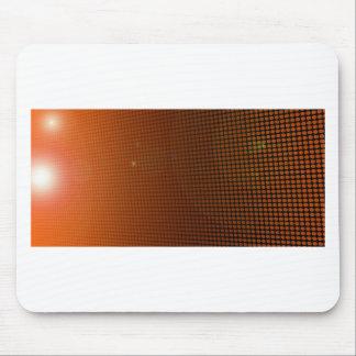 Tapis De Souris orange halo