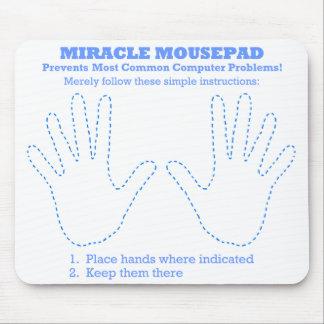 Tapis De Souris Ordinateur drôle Mousepad de miracle