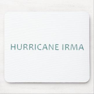 Tapis De Souris Ouragan Irma Mousepad soufflé par vent
