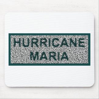 Tapis De Souris Ouragan Mousepad loin lavé par Maria