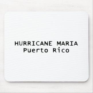 Tapis De Souris Ouragan Mousepad parti soufflé par Maria