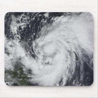Tapis De Souris Ouragan Wilma dans l'Océan atlantique et les