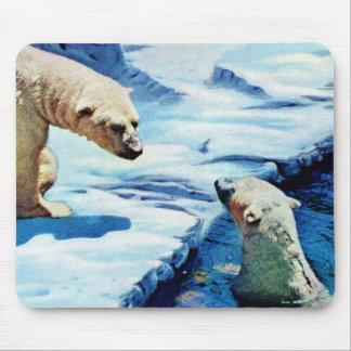 Tapis De Souris ours blancs