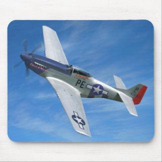"""Tapis De Souris P-51D """"Cripes A puissant """""""
