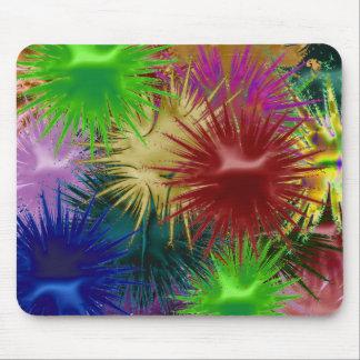 Tapis De Souris Paintball Mousepad de fractale