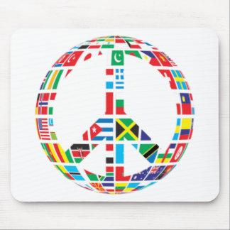 Tapis De Souris Paix globale